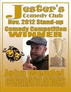 John Wendel Top Rated Comedian - Adult Stand Up Comedian