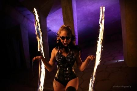 Katia M Fire Dancer - Fire Performer