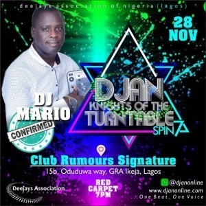Bello Lateef Ademola  - Nightclub DJ