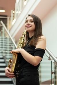 Phoebe Turner - Saxophonist