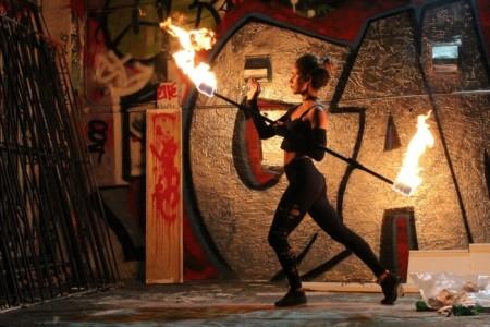 Violeta Fiesta - Fire Performer