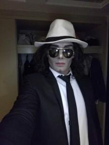 Michael Jackson makeup and dancing - Michael Jackson Tribute Act