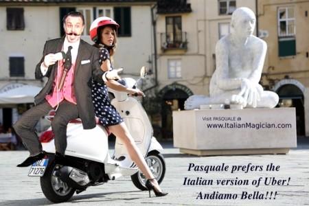 PASQUALE! Italy's Greatest(??) Magician..in America - Comedy Cabaret Magician
