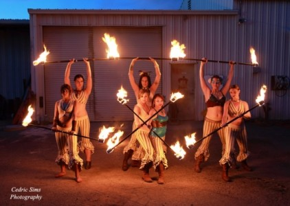 Obsidian Butterfly and Sacred Fire Dance Company - Fire Performer