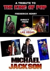 'MICHAEL'  - Michael Jackson Tribute Act