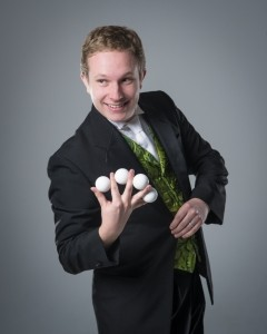 Theron Milo, The Rocky Mountain Wizard - Cabaret Magician