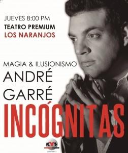 Andre Garre - Cabaret Magician