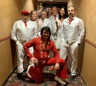 Elvis Tribute Artist Art Kistler and the EP Boulevard Band - Elvis Impersonator