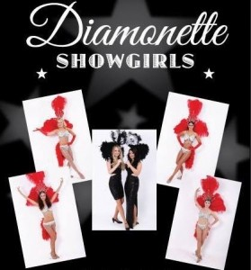 The Diamonette Showgirls - Female Dancer