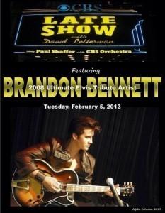Brandon Bennett - Elvis Impersonator