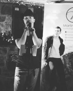 Martin boyd - Male Singer