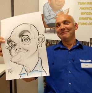 Mickey Toones - Caricaturist