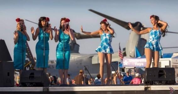 THE SATIN DOLLZ - Veterans Tribute Act