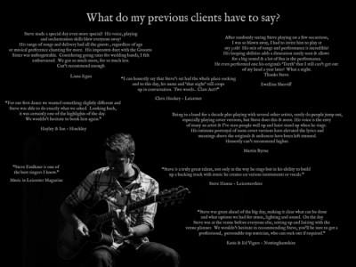 Steven Faulkner - Guitar Singer