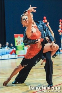 Irina Chursina and Andrei Bubnov - Ballroom Dancer