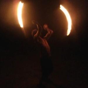 Dusti Rhoads - Fire Performer