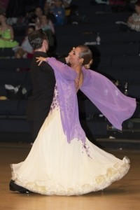 Anne Biggs  - Ballroom Dancer