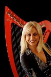 Shirley Dominguez International Harpist Headliner Entertainer image