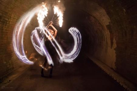 Iris West - Hula Hoop Performer
