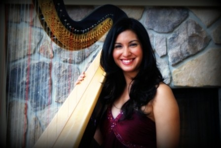 Boston Harpist Lizary Rodriguez - Harpist