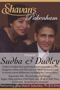 Sudha & Dudley - Duo
