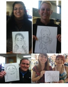 60 Second Speed Sketchers Caricatures by Adam Pate, the fastest caricature artist in the world image