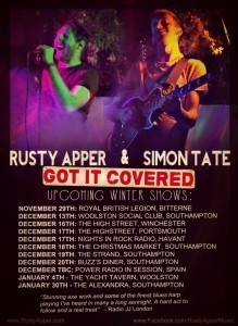 Rusty Apper 'Got it Covered' - Duo