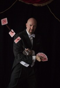 Brian Cassady | Host of the Wondershow  - Cabaret Magician