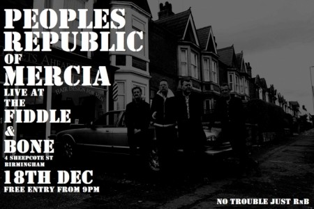 Peoples Republic of Mercia - Rock & Roll Band