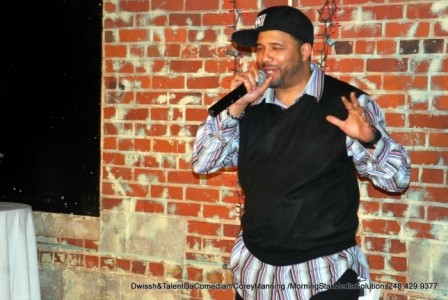 Comedian DWissh  - Adult Stand Up Comedian