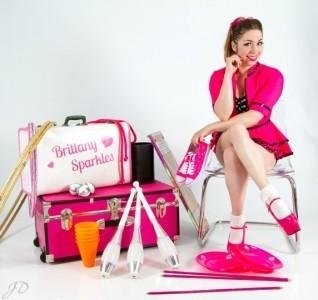 Brittany Sparkles - Aerialist / Acrobat