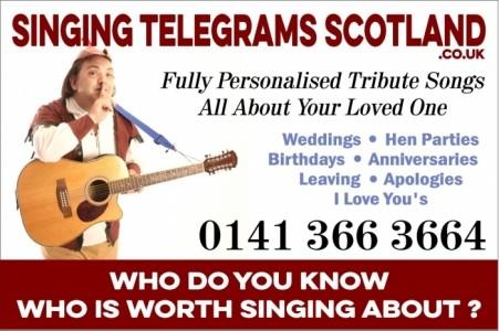 Singing Telegrams Scotland - Singing Telegram