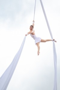 I do aerial stuff on 10 different things!!! - Aerialist / Acrobat