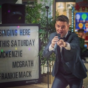 FrankieMack | Swing & Rat Pack Tribute Artist - Rat Pack Tribute Act