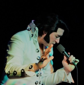 James Burrell as Elvis Presley - Elvis Impersonator