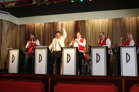 Max Debon & The Debonaires - Swing Dance Band image