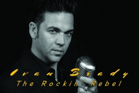 Ivan brady Rockin Rebel - Elvis Tribute Act