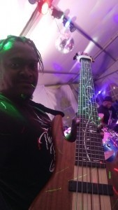 Sipho Reuben Dhlamini the bassist  - Function / Party Band