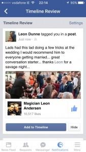 Leon Andersen  - Close-up Magician