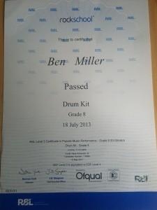 Ben Miller - Drummer