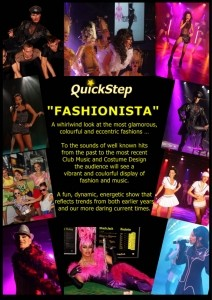 QUICKSTEP SHOW PRODUCTIONS - Ballet Dancer