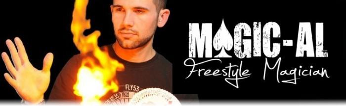 Magic-Al - Freestyle Magician - Close-up Magician