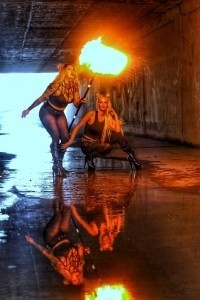 Jesabella Marie - Fire Performer
