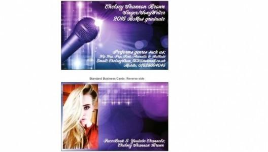 Chelsey Shannon Brown. - Female Singer