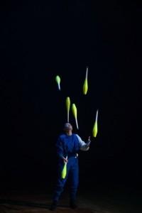 Delaney Bayles Juggling Act - Juggler