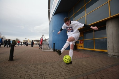 Chris Draper - Professional Freestyler - Football Freestyle Act