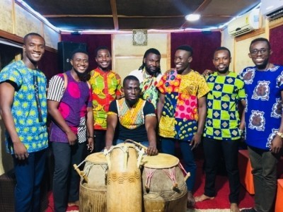 A nine man band playing Ghanaian songs - Other Instrumentalist