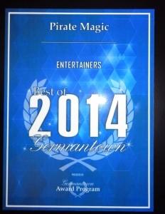 Marc Schack aka Captain Silly Bones of Pirate Magic! - Children's / Kid's Magician