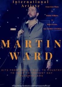 Martin Ward - Male Singer