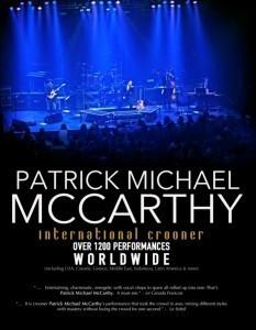 Patrick Michael McCarthy - Jazz Singer